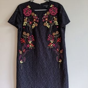 French Connection embroidered lace dress 10